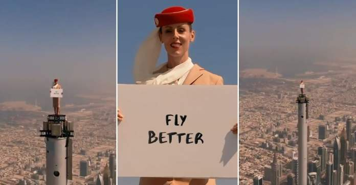 These air hostesses are absolutely fearless