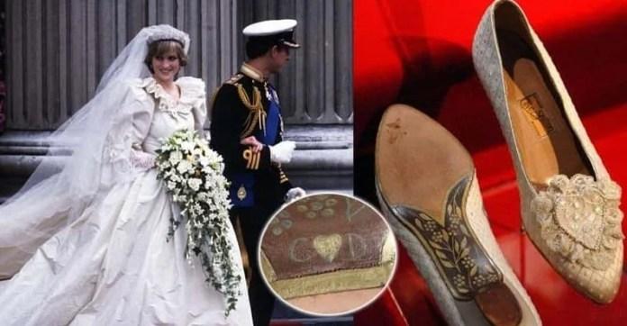 The secret to Princess Diana's shoes