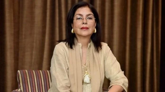 Zeenat Aman stylish icon of Indian cinema