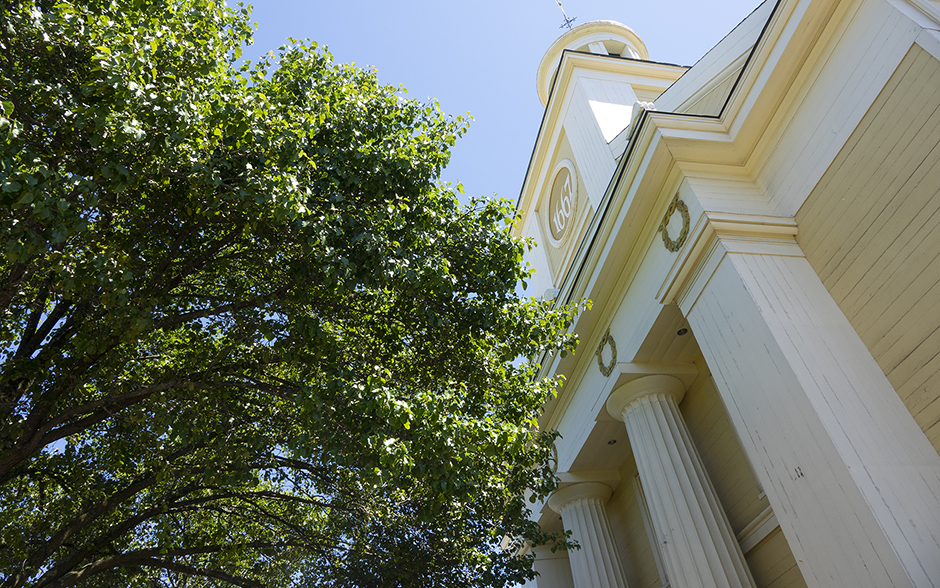 Steeple at First Parish Unitarian Universalist Church