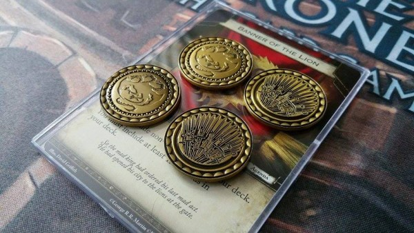 A Game of Thrones LCG Premium Coins (Gold)