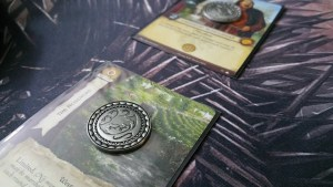A Game of Thrones LCG Premium Coins (Silver)