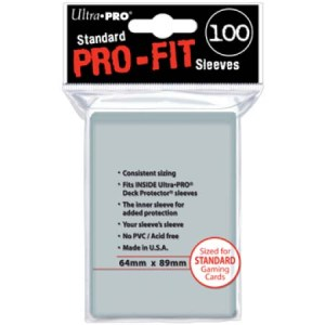 Card Sleeves Pro-Fit Standard Size