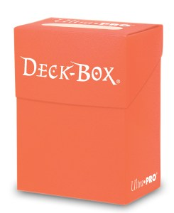 Deck Box Peach