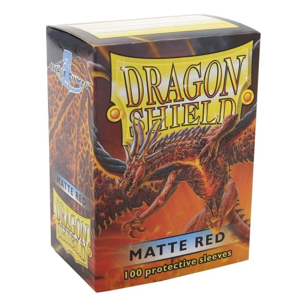 Dragon Shield Matte Sleeves (100) - Red