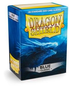 Dragon Shield Classic Sleeves (100) - Blue