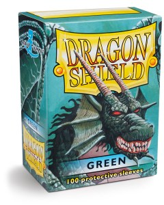 Dragon Shield Classic Sleeves (100) - Green