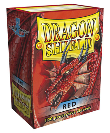 Dragon Shield Red 100-p