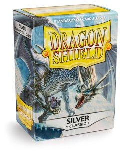 Dragon Shield Silver 100-p