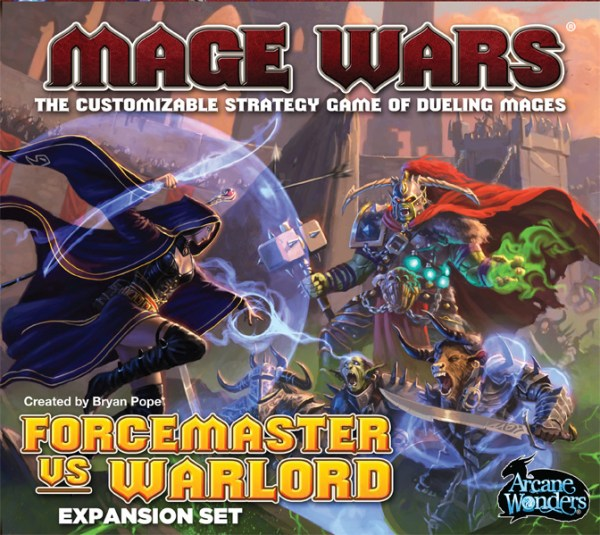Mage Wars: Forcemaster vs. Warlord