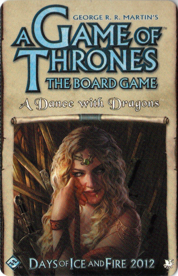 A Game of Thrones: The Board Game - A Dance with Dragons Expansion