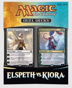 Magic the Gathering: Elspeth vs. Kiora Duel Deck