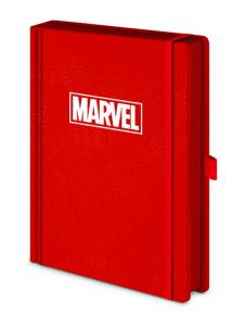 Marvel Red Premium A5 Notebook