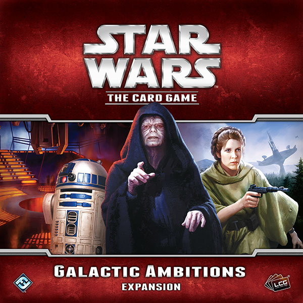 Star Wars LCG Galactic Ambitions Exp.