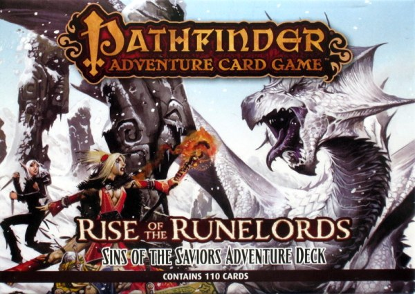 Pathfinder Adventure Card Game: Rise of the Runelords – Sins of the Saviors Adventure Deck