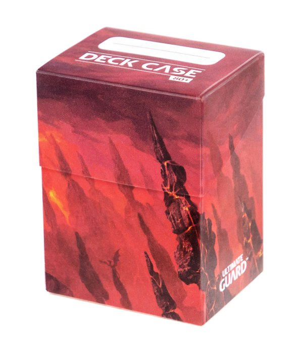 Ultimate Guard Basic Deck Case 80+ Standard Size Lands Edition Mountain
