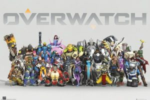 Overwatch Poster Pack Anniversary Line Up 61 x 91 cm (5)