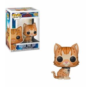 Captain Marvel POP! Marvel Vinyl Bobble-Head Figure Goose the Cat 9 cm
