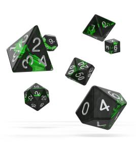 Oakie Doakie Dice RPG Set Enclave - Emerald (7)