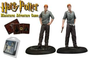 Harry Potter Miniatures 35 mm 2-pack Fred & George Weasley