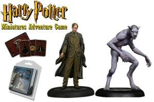 Harry Potter Miniatures 35 mm 2-pack Remus Lupin *English Version*