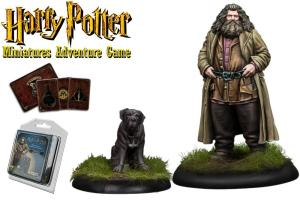 Harry Potter Miniatures 35 mm 2-pack Rubeus Hagrid *English Version*
