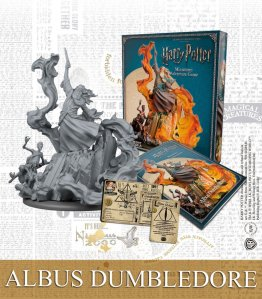 Harry Potter Miniature 35 mm Albus Dumbledore *English Version*
