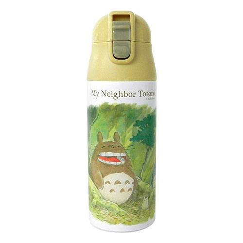 My Neighbor Totoro Water Bottle One Push Totoro