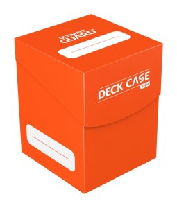 Ultimate Guard Deck Case 100+ Standard Size Orange