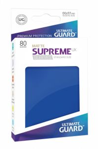 Ultimate Guard Supreme UX Sleeves Standard Size Matte Blue (80)