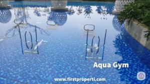 fasilitas apartemen west vista aqua gym
