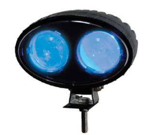 front view of ECO Blue Light