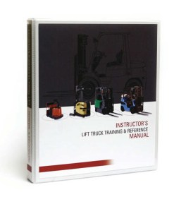 Train the Trainer Forklift Reference Binder
