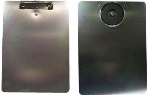 This durable aluminum clipboard has a 100 lb magnetic attached. Keep your picking documents and/or bill of lading paperwork always close by. Attaches to many metallic surfaces.