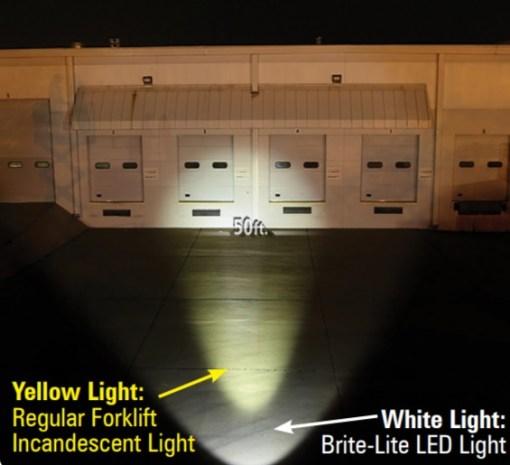 Brite Lite LED Forklift Headlight c