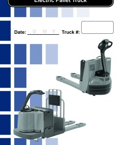 Pallet Truck Forklift Daily Checklist Caddy