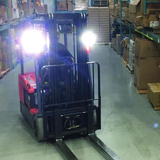 Eco LED Headlight On Forklift
