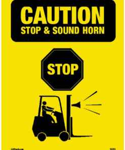 Caution Stop Sound Horn