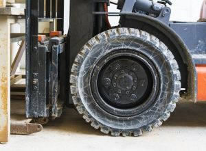 The Different Types of Forklift Tires