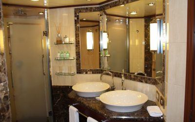 Silversea Bathrooms: The Cruise Bathroom I Wish I Had in my House