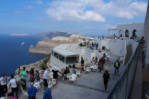 Santorini wineries