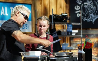 Guy Fieri and Carnival Host 4H Cooking Contest at the State Fair of Texas