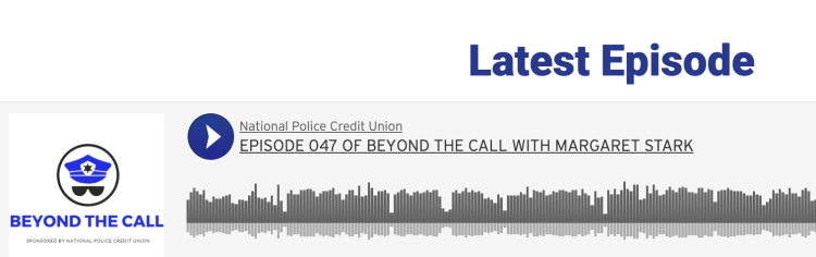 Beyond the Call Podcast talks with Margaret Stark of First Responder Grants