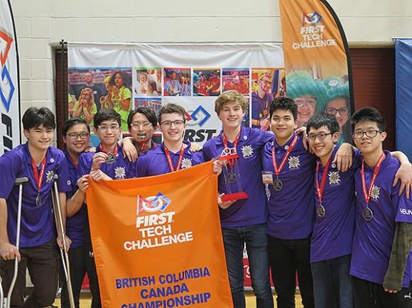 Inspire Award Winner - Team 16888 Vancouver College Clean-Up Crew