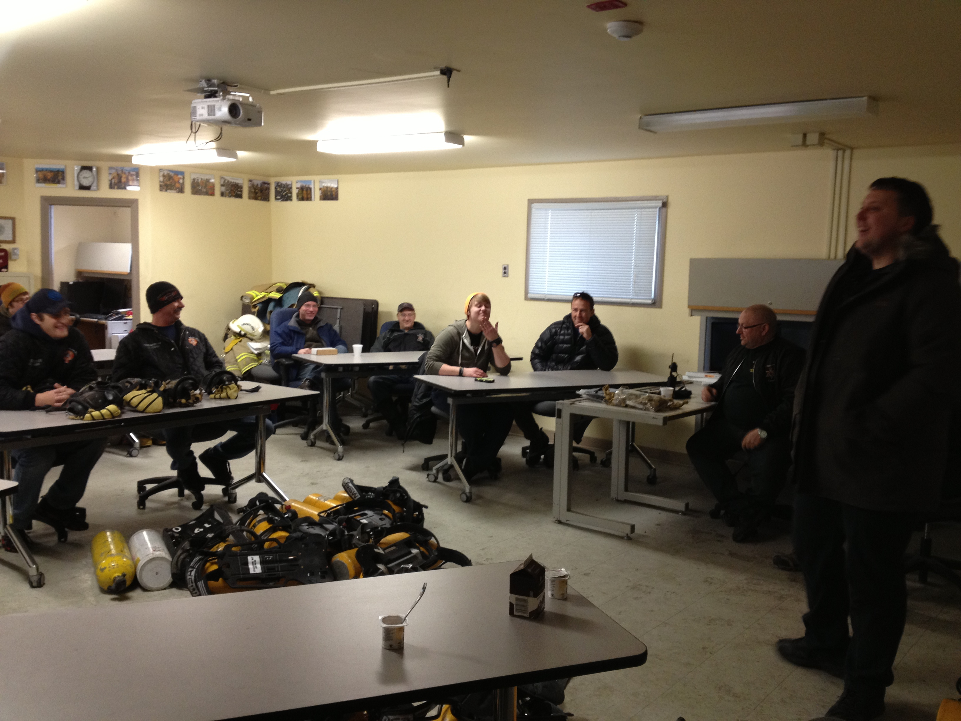 Gallery First Rung Response Training