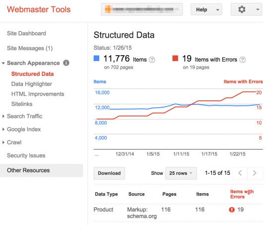 Google Webmasters Tools