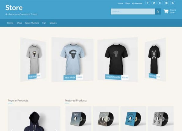 Магазин Theme Скриншот