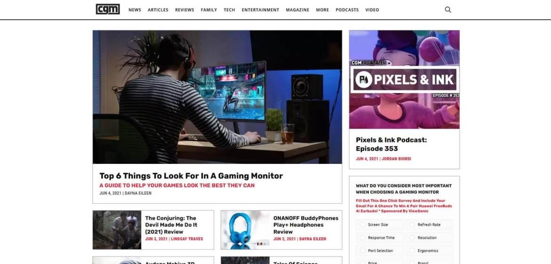 CGM Homepage