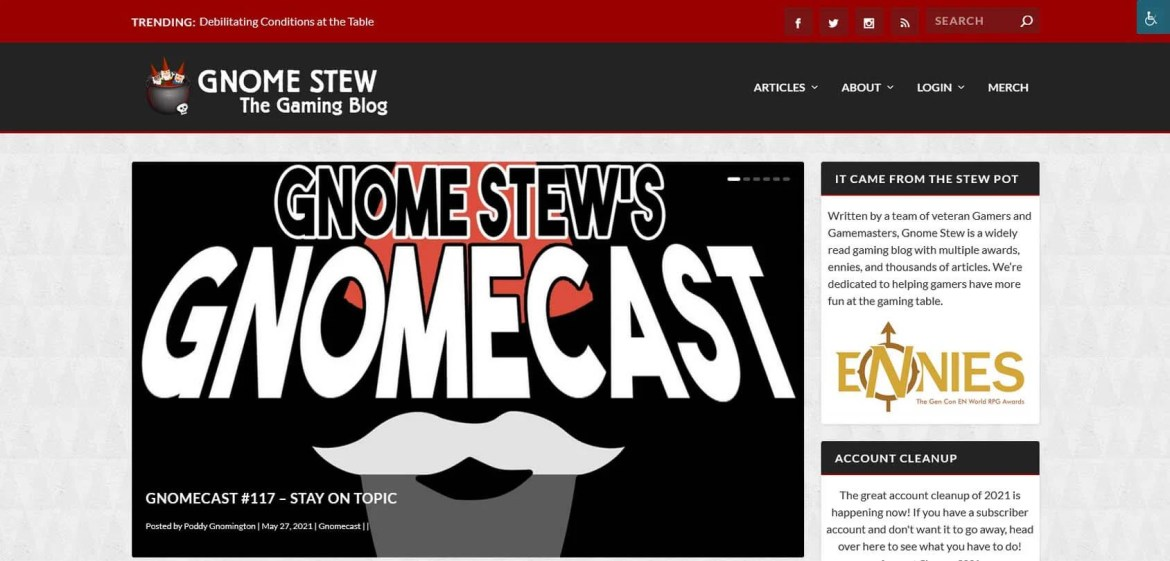 Gnome Stew Homepage