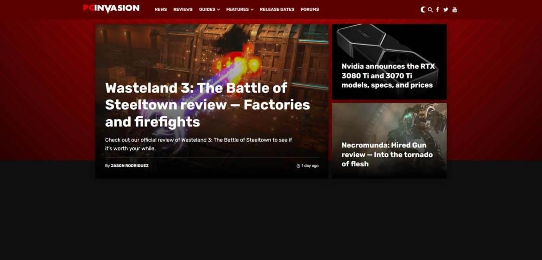 PC Invasion Homepage